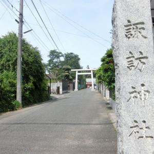 岩槻武家屋敷街に鎮座「太田諏訪神社」