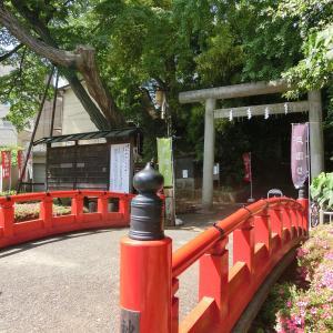 源氏ゆかりの福の神「駒繋神社」