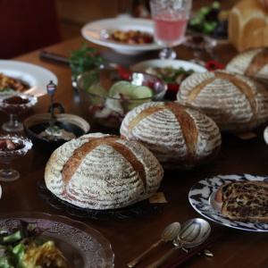 カンパーニュと食パン実験レッスン