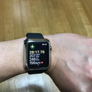 applewatchでワークアウトの1日