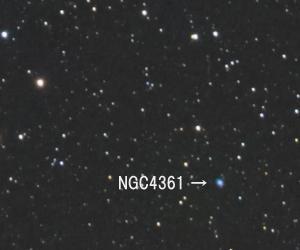 星野写真(60Da、100mm) おとめ座領域2