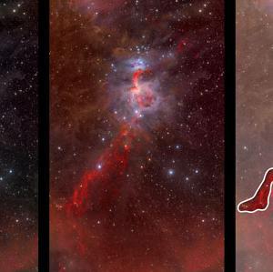 宇宙物理学  星の生まれる場所 (1) オリオン星雲