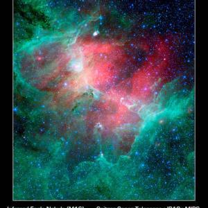 宇宙物理学  星の生まれる場所 (2) わし星雲
