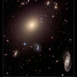 宇宙物理学  楕円銀河