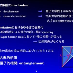 宇宙物理学  量子ゆらぎと原始ゆらぎ