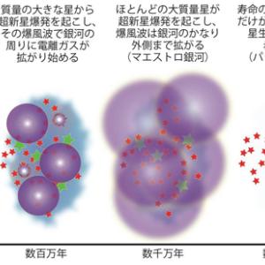 宇宙物理学  銀河の星形成活動