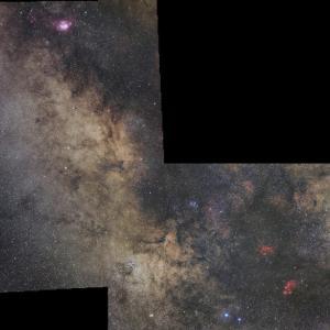 星野写真(60Da、100mm) いて座領域5