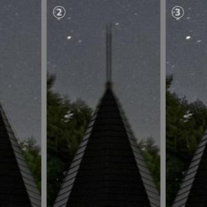 固定撮影による星景写真の試行錯誤 (3)