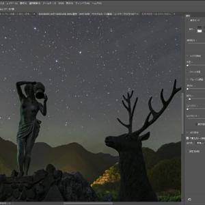 固定撮影による星景写真の試行錯誤 (4)