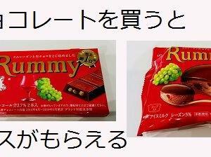 チョコレート買ってラムレーズンアイスがもらえる:ファミリーマート