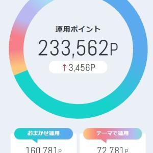 dポイント投資 本日は今月2度目の爆益で2682円