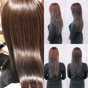 ダメージレスカラーで髪質改善