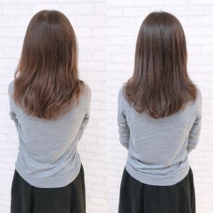 50代後半とは思えない綺麗な髪