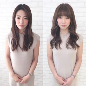 前髪で女性のイメージは変わる!
