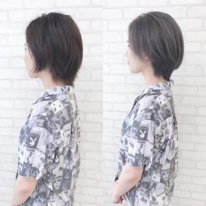 黒染め毛からの3回カラー