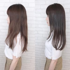 夏で痛んだ髪は綺麗にしましょう