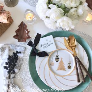 12月レッスン日程とポーセラーツクリスマステーブルセッティング♡