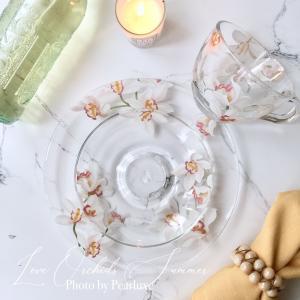 【募集】6種類から選べるポーセラーツ夏のガラス1dayイベントレッスン2019