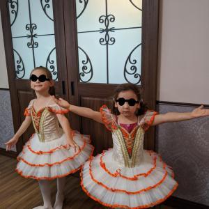 ミニとスモモのバレエの発表会