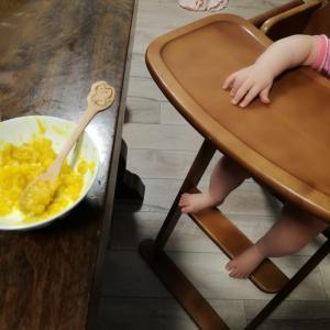 ぱる6ヶ月半の離乳食