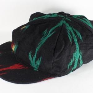 グアテマラ 帽子 ドレッドヘアー ラスタ帽子 中米雑貨