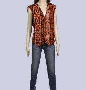 トルコ キリム柄ベスト チョッキ 民族衣装 トルコ雑貨