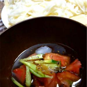素麺変わりつけ汁