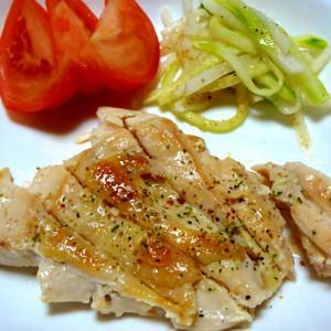 塩麹漬け鶏もも肉・あんかけ鶏唐揚
