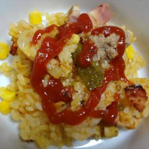 鶏肉と野菜のパエリア