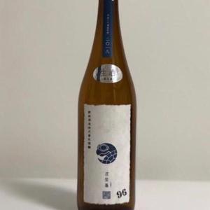 新政酒造 涅槃亀 今回は96% 低精米純米酒