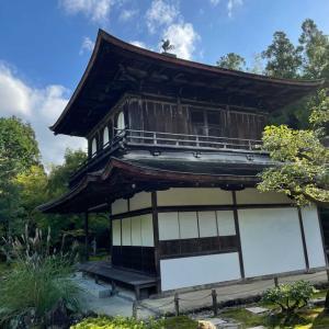 京都  哲学の道から 銀閣寺へ