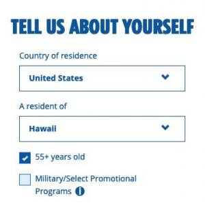 50歳からシニア割引?ハワイのシニア割引リスト