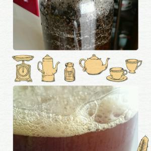ウーロン茶酵母完成