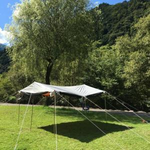 テント タープ サンシェルター ラニーメッシュ (CAPTAIN STAG) 「早川町オートキャンプ場」その2