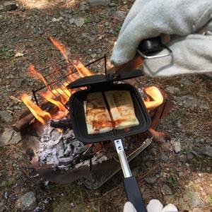 chumsのダブルホットサンドイッチクッカーを試してみました!