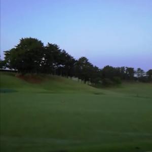 今年初の早朝ゴルフしてきました