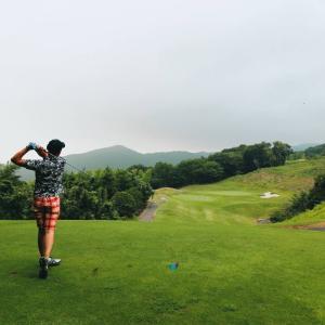 お盆明けてからのゴルフ