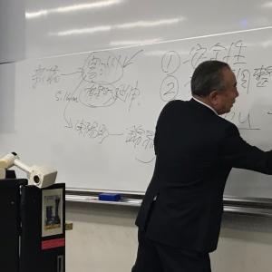 母校早稲田大学で講義