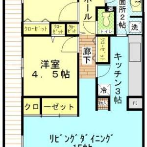 東毛呂7分2LDK賃貸マンション8万