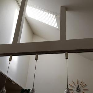 電動シャッター(天窓ブラインド)つきました