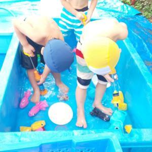 水遊び楽しいね その2