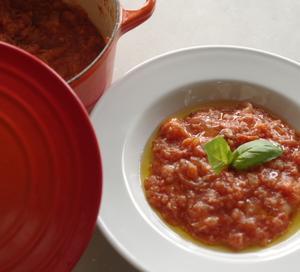 パッパ・アル・ポモドーロ マンマの味パンのお粥トマト仕立て