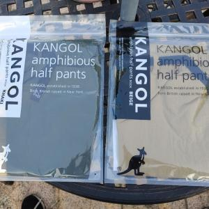 KANGOL 水陸両用ハーフパンツ