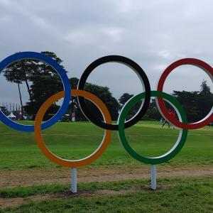 オリンピック 男子ゴルフ 3rd ROUND