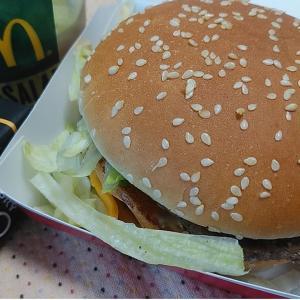 急にボリュームのあるハンバーガーが食べたくなって