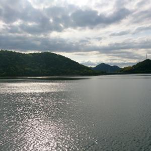 夕方から15km走@平荘湖