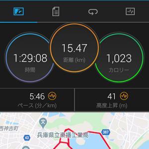 平荘湖15km走