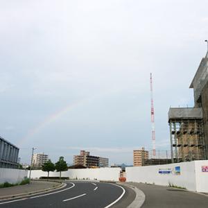 虹×帰宅ランの先には大量の…