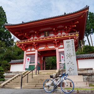 播州清水寺とダチョウの定食