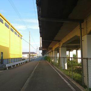 帰宅ジョグ@新幹線高架下